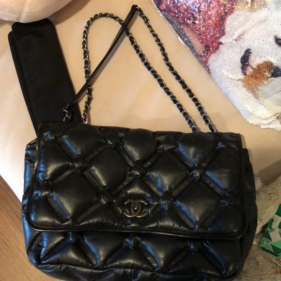 fb5ca27ddfbdda CHANEL Bags | Chesterfield Flap Bag Jumbo Calfskin | Poshmark